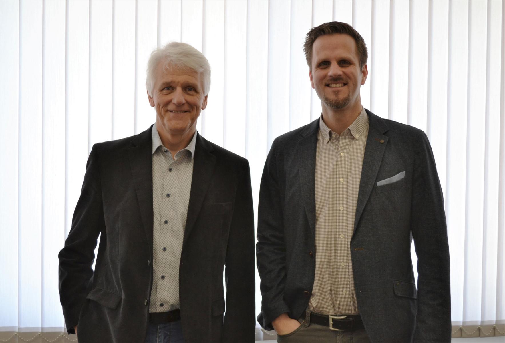 Alfred Bienholz (stellvertrender Schulleiter), Dr. Mathias Balliet (Schulleiter)